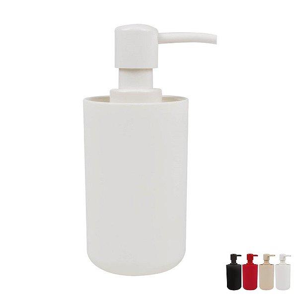 Suporte Porta Sabonete Líquido Dispenser Banheiro Pia - Mor - Branco