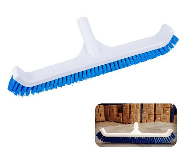 Escova Curva 44cm Acessório Limpeza Para Piscina - 0220 Netuno