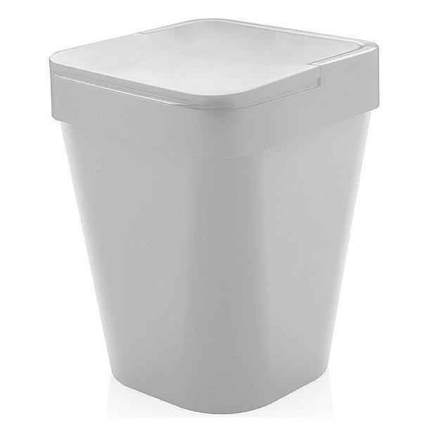 Lixeira Izzy 5 Litros Cozinha Pia Lavabo Banheiro - LX 115 - Ou - Branco