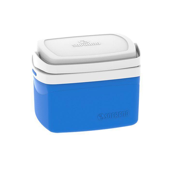 Caixa Térmica Cooler Tropical 5 Litros Bebidas e Alimentos - Soprano - Azul