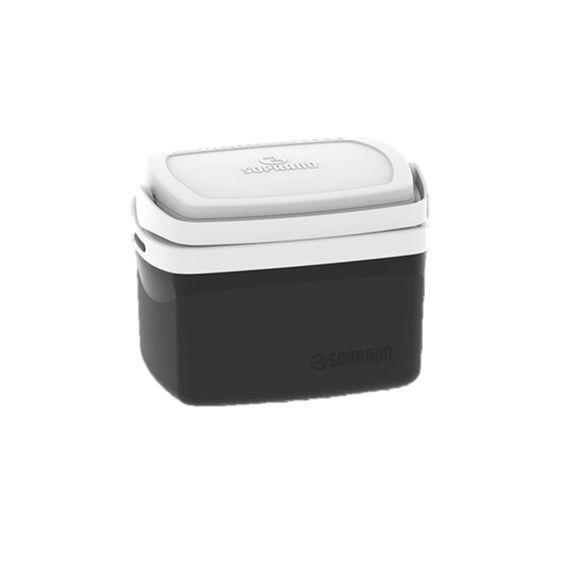 Caixa Térmica Cooler Tropical 5 Litros Bebidas e Alimentos - Soprano - Preto
