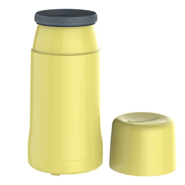 Garrafa Térmica Pequena Onix 250 ml Mini Água Chá Café - Soprano - Amarelo