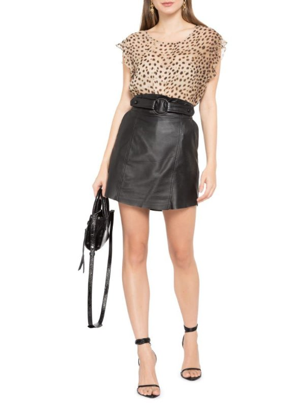 Blusa Wizzi Cheetah