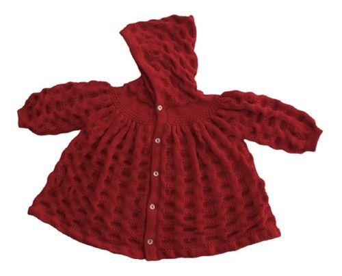 Casaco Capuz Inverno Bebê 3/6 Meses Meninos Meninas Ref. 135