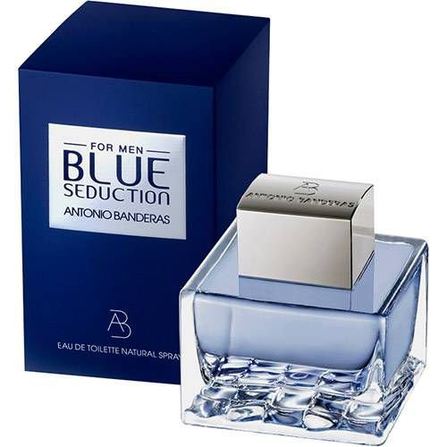 Perfume Antonio Bandeiras Masculino Blue Seduction 200ml Giovanna Imports