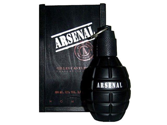 Perfume Arsenal Black 100ml Gilles Cantuel Masculino Eau de Parfum