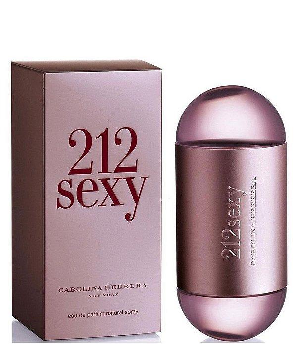 Perfume 212 sexy Feminino 100ml Carolina Herrera Eau de Parfum na Perfumes Importados Gi