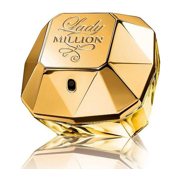 Perfume Paco Rabanne Lady Million 80ml Feminino Eau de Parfum