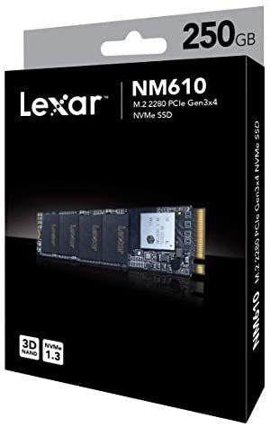 SSD 250GB LEXAR M2 NM610