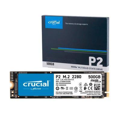 SSD 500GB M.2 NVME P2 CRUCIAL