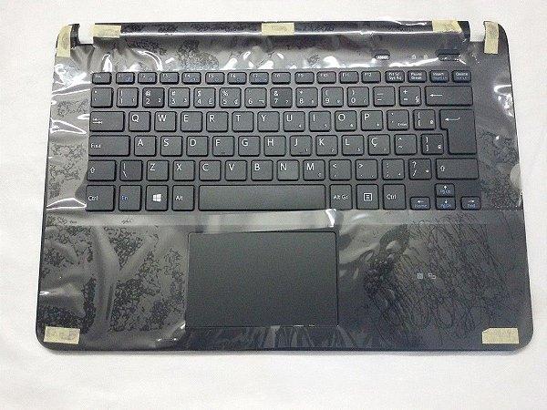 Teclado Sony Svf14 Com Moldura Br Com Ç - Preto