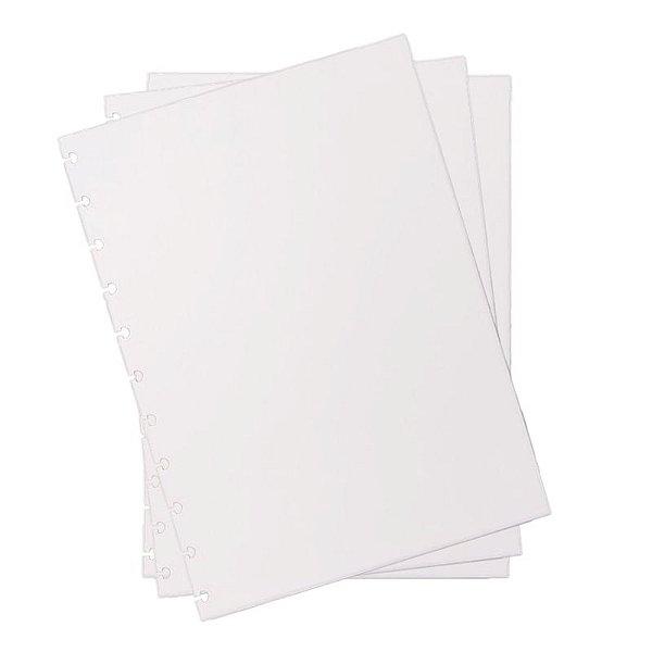 Refil p/ CI Grande 30 Folhas Liso 120g - unitário - Caderno Inteligente