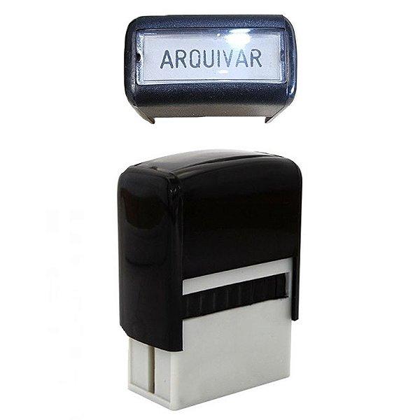 """Carimbo Automático """"Arquivar"""" - unitário - Carbrink"""