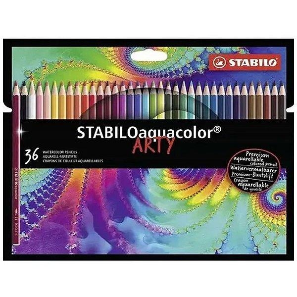 36 Lápis STABILO Aquacolor Arty - unitário - Stabilo