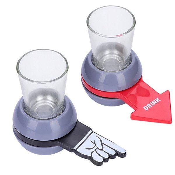 """Jogo de Bebida """"Shot Spinner"""" - unitário - Importado"""
