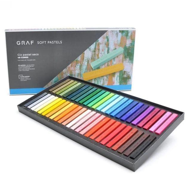 "Giz Pastel Seco ""Graf Soft Pastels"" 48 Cores - unitário - CIS"