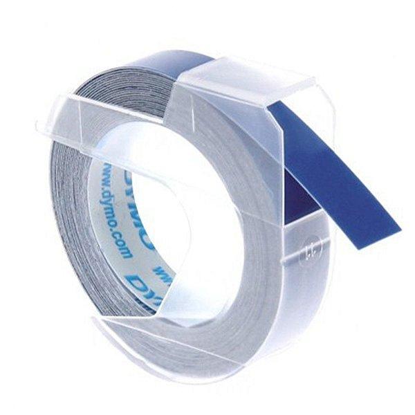 Fita Vinilica p Rotulador Manual Azul - unitário - DYMO