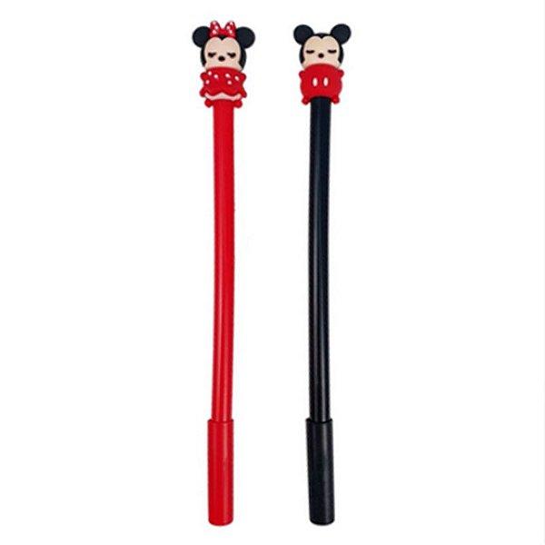 Caneta Gel Mickey e Minnie Baby - unitário - Importados