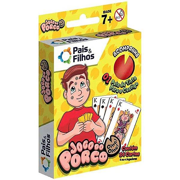 Jogo do Porco - unitário - Pais & Filhos