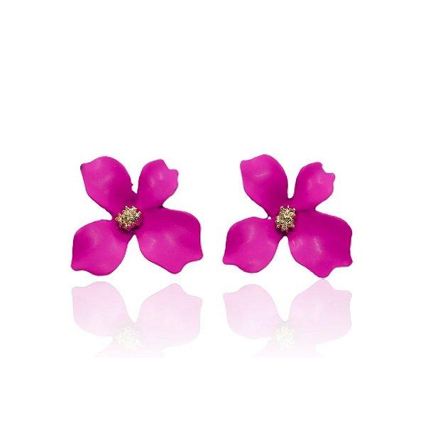 Brinco Flower Pink