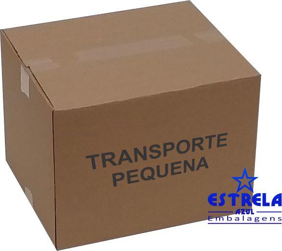 Caixa de Transporte Pequena Med. 38x31x29cm