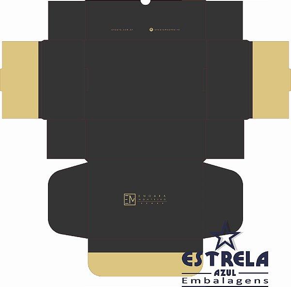 Caixa para correio - Sedex e-commerce n°2 Med. 27x18x9cm - Impressa