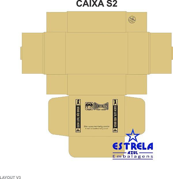 Caixa sedex s2 - 230.160.080mm Personalizada