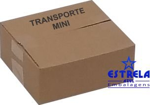 Caixa de Transporte Mini Med. 19x17x7,5cm - Ref.9