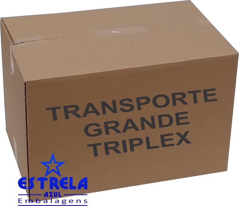 Caixa de Transporte Grande Triplex Med. 60x40x40cm - Ref.81