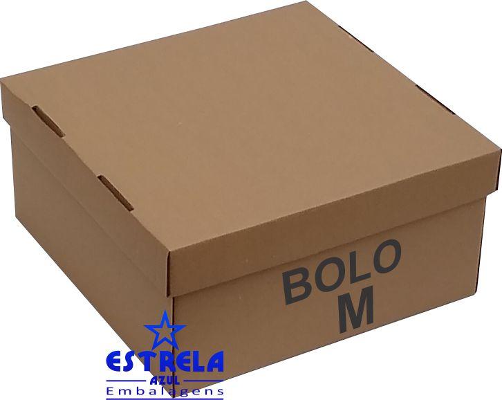 Caixa de Bolo M. 36x36x20cm - Ref.41