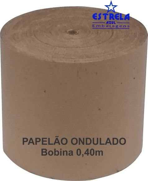 Papelão Ondulado 40cm - Ref.83