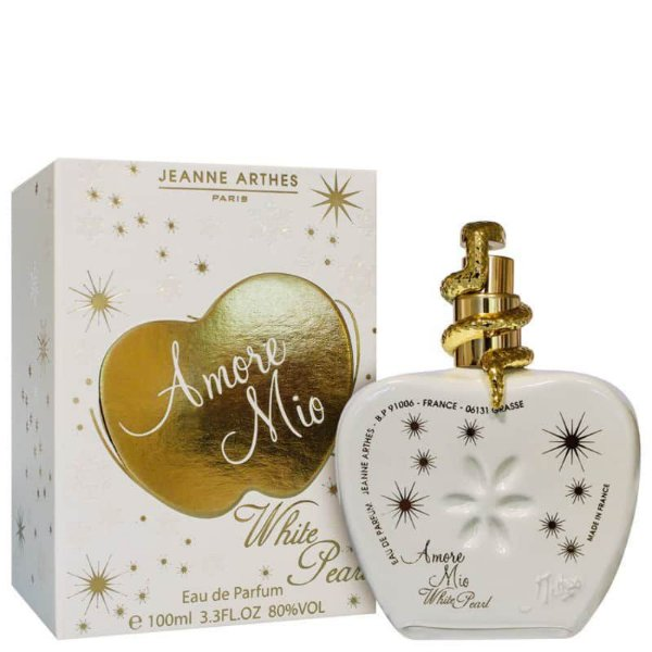 AMORE MIO WHITE PEARL By Jeanne Arthes