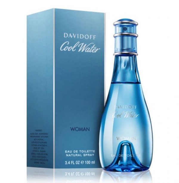 COOL WATER FOR WOMAN By Davidoff