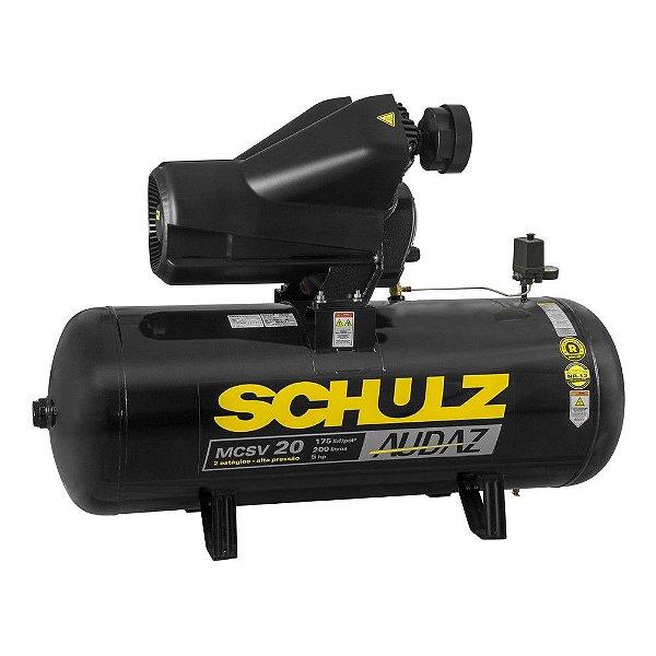 MOTOCOMPRESSOR Audaz MCSV 20/200 TRIF. 5CV 220/380V 4P 60Hz