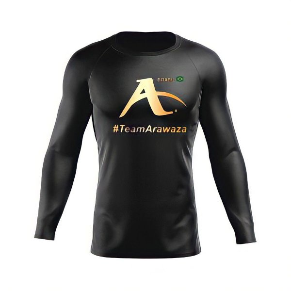 CAMISETA (SECOND SKIN) #TEAMARAWAZA