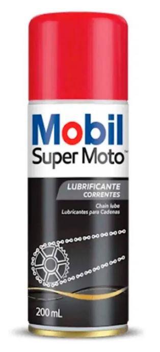 Óleo Lubrificante Corrente Super Moto Honda Yamaha Harley Original Mobil Chain Lube Spray 200ml