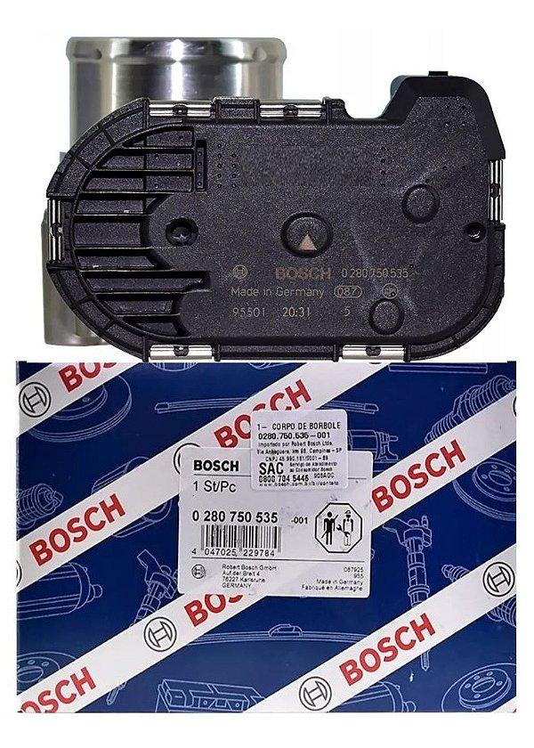 Corpo de Borboleta Original Bosch Ford New Fiesta Nova Ecosport Focus 1.6 16v Flex Ká 1.5