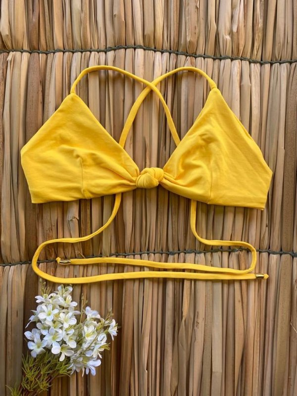 Top Filomena Amarelo