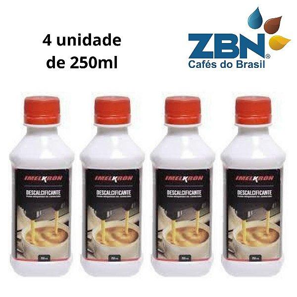 DESCALCIFICANTE LIQUIDO 250ml  GAGGIA/SAECO (4 unidades)