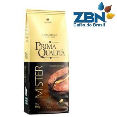 CAFÉ TORRADO E MOÍDO SUPERIOR PRIMA QUALITA MISTER 500g