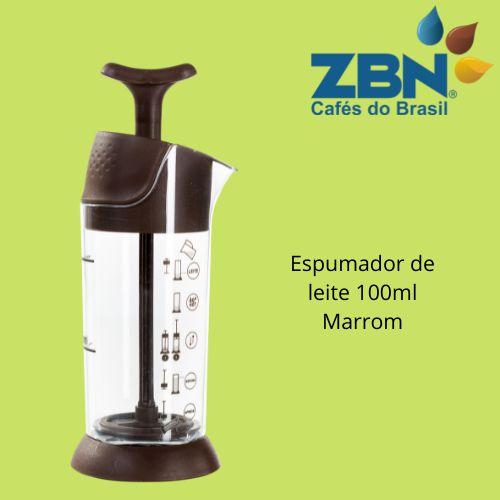 PRESSCA ESPUMADOR DE LEITE 100ml - MARROM