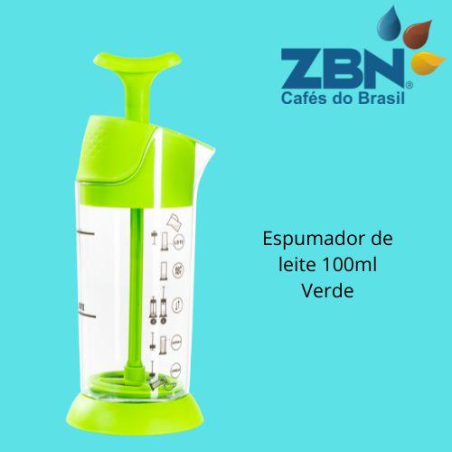 PRESSCA ESPUMADOR DE LEITE 100ml - VERDE