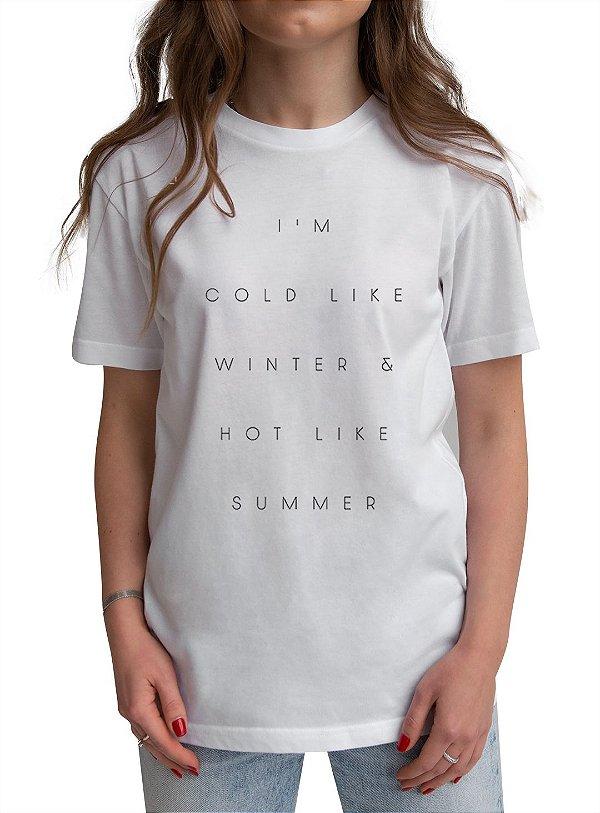 T-shirt GFR Ônibus Branca