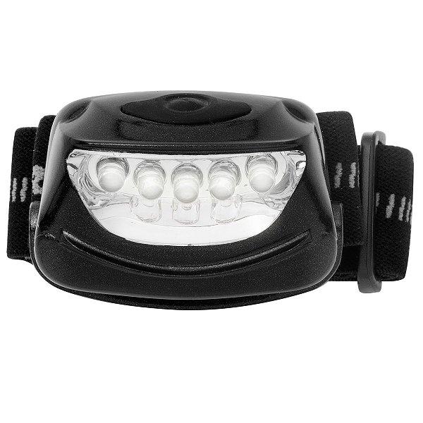01 Lanterna de cabeça Ar Livre Mãos livres 5 LEDs RAY