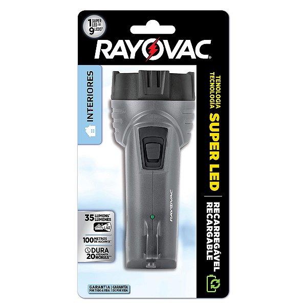 01 Lanterna Interiores Super Led Mini Rayovac
