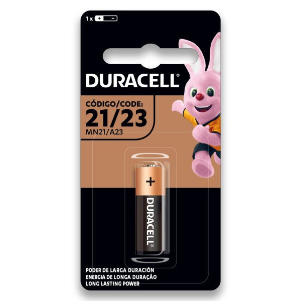 01 Pilha Bateria Duracell 23a 12v A23 Alcalina 1 Cartela