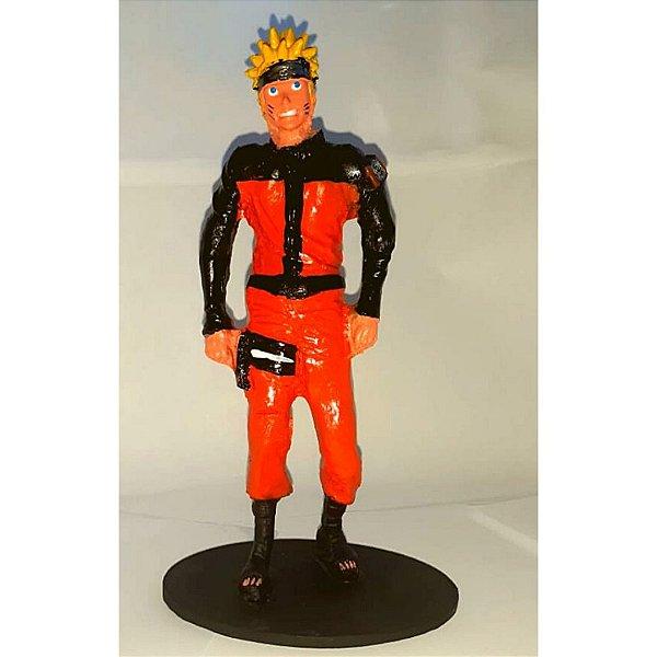 Boneco Naruto -  Estátua Em Resina