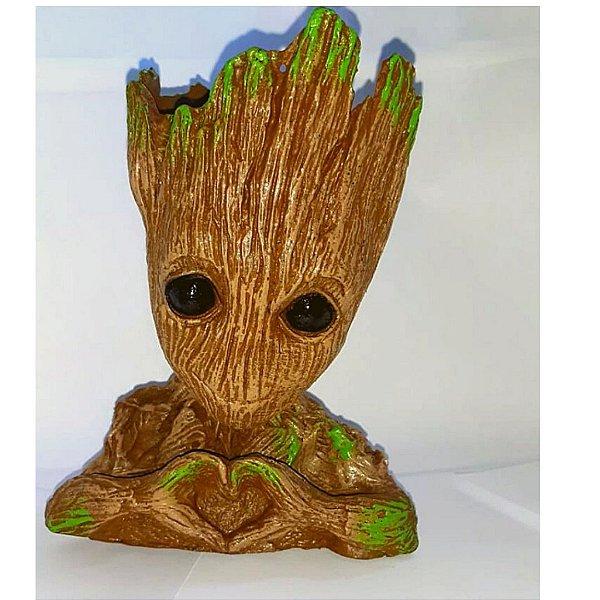 Baby Groot -  Guardiões Da Galáxia - Vaso Decoração
