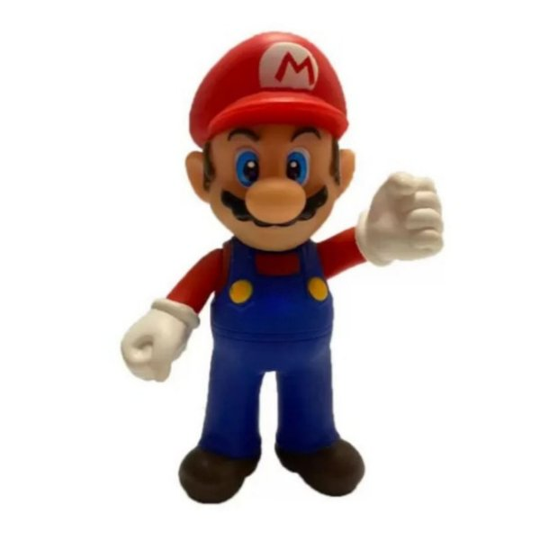 Boneco Super Mario Bros -  Articulado Collection