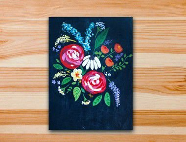Pinte a tela Primavera